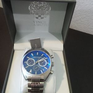 NEW  Vince Camuto Stainless WATCH Multi Function